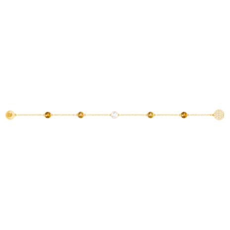 Swarovski Remix Collection Golden Strand, multicolore, Métal doré - Swarovski, 5403221