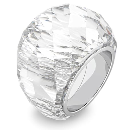 Swarovski Nirvana Ring, silberfarben, Edelstahl - Swarovski, 5410311