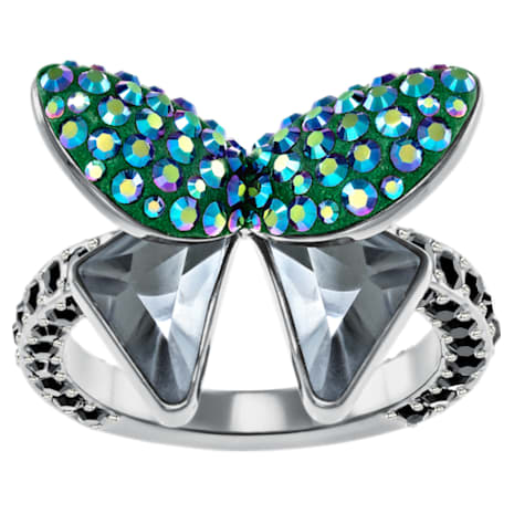 Magnetized Motif Ring, Multi-coloured - Swarovski, 5411005