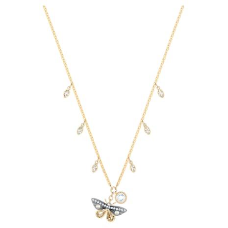 Magnetic Necklace, Multi-coloured, Mixed metal finish - Swarovski, 5416786