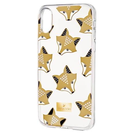 March Fox Smartphone Case with integrated Bumper, iPhone® X/XS, Multi-colored - Swarovski, 5418590