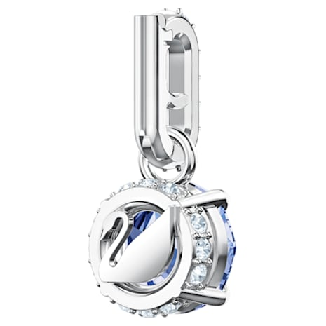Swarovski Remix Collection Charm, 九月, 深藍色, 鍍白金色 - Swarovski, 5437319