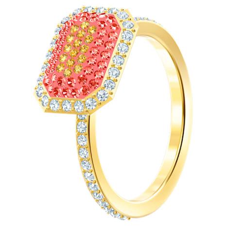 No Regrets Ring, Multi-colored, Gold-tone plated - Swarovski, 5457503
