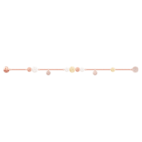 Swarovski Remix Collection Pearl Strand, Multi-colored, Rose-gold tone plated - Swarovski, 5464297