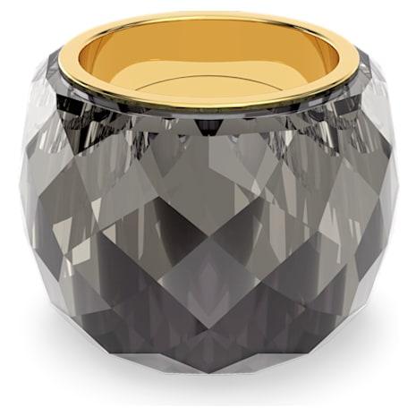 Swarovski Nirvana Ring, Gray, Gold-tone PVD - Swarovski, 5470027