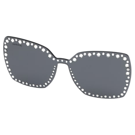 Swarovski Click-on Mask for Sunglasses, SK5330-CL 16A, Gray - Swarovski, 5483813