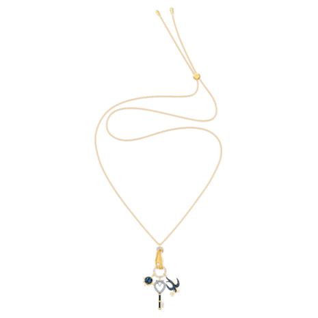 Colgante Tarot Magic Charm, multicolor, Baño en tono Oro - Swarovski, 5490921