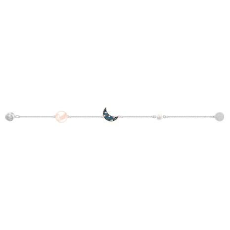 Swarovski Remix Collection Moon Strand, mehrfarbig, Metallmix - Swarovski, 5490934