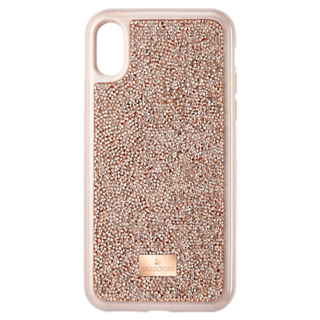Glam Rock Smartphone Case, iPhone® X/XS, Pink Gold - Swarovski, 5498749