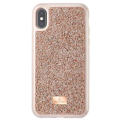 Funda para smartphone Glam Rock, iPhone® X/XS, Oro Rosa - Swarovski, 5498749