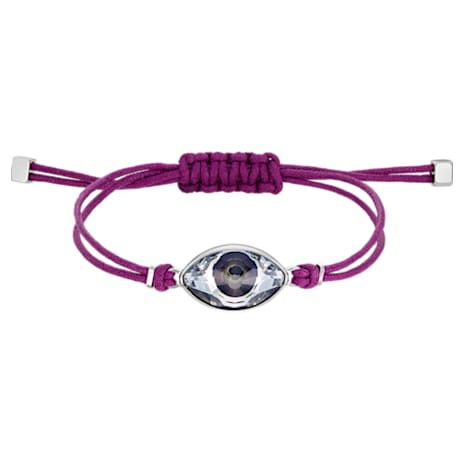 Pulsera Swarovski Power Collection Evil Eye, violeta, acero inoxidable - Swarovski, 5508534