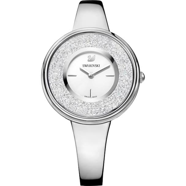 MetalBlancoAcero Inoxidable Reloj De Crystalline PureBrazalete BCxrdoe