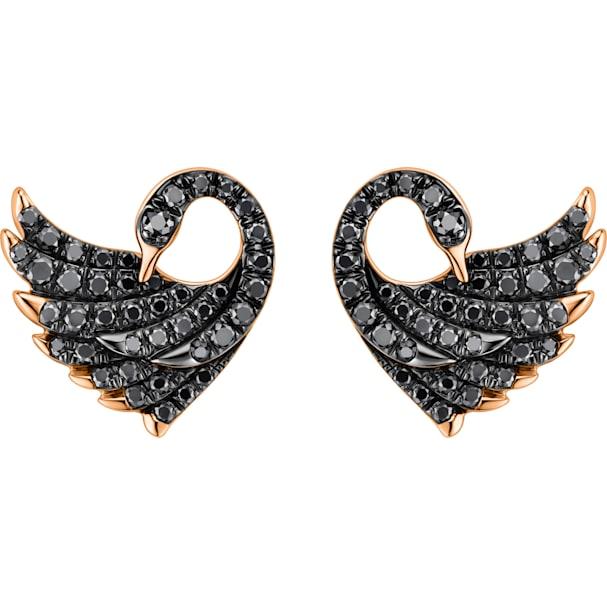 Dancing Swan Earrings Swarovski