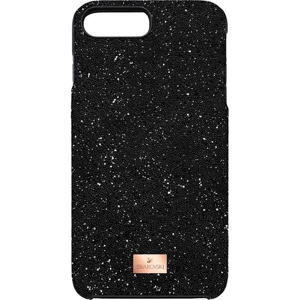 watch 610f9 5ff72 High Smartphone Case with Bumper, iPhone® 8 Plus, Black