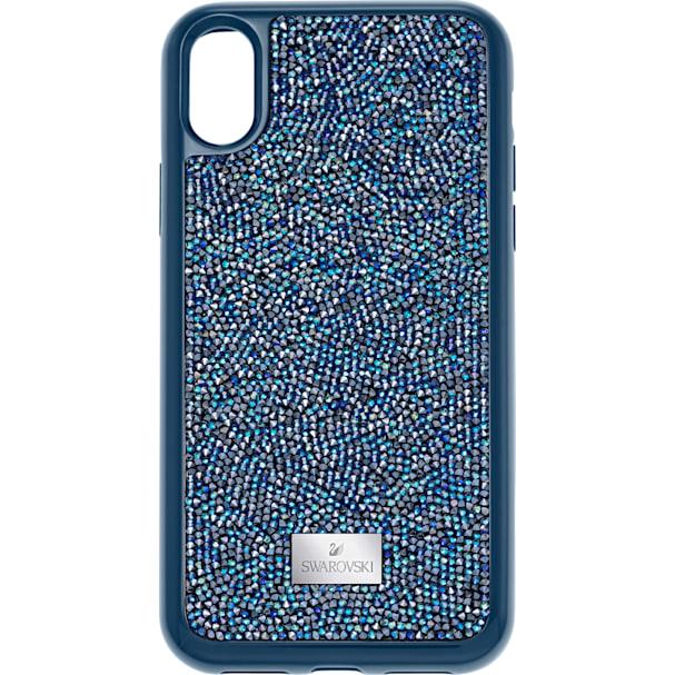 newest 6a9f2 e3b77 Glam Rock Smartphone Case with integrated Bumper, iPhone® X/XS, Blue