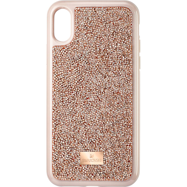 detailed look 1eb51 1200c Glam Rock Smartphone Case, iPhone® X/XS, Pink Gold