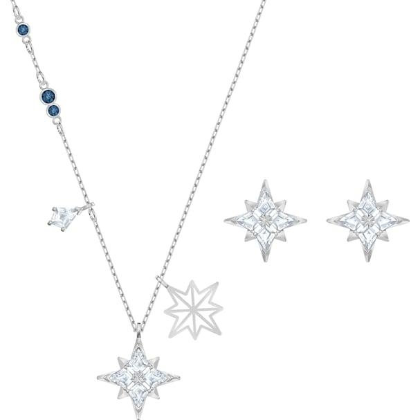 seleziona per il più recente un'altra possibilità Sito ufficiale Parure Swarovski Symbolic Star, blanc, Métal rhodié