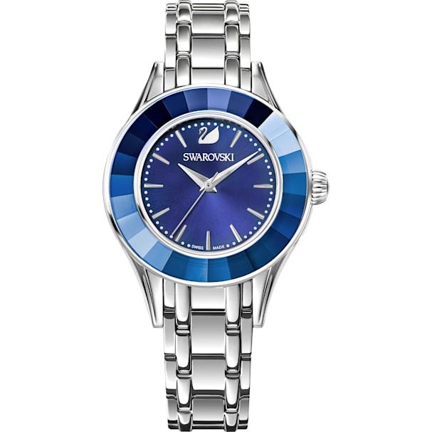 8607eaa43d21b Alegria Watch, Metal bracelet, Blue, Silver tone