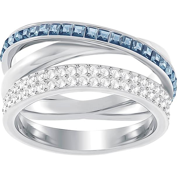 9355911cf2647 Hero Ring, Blue, Rhodium plated
