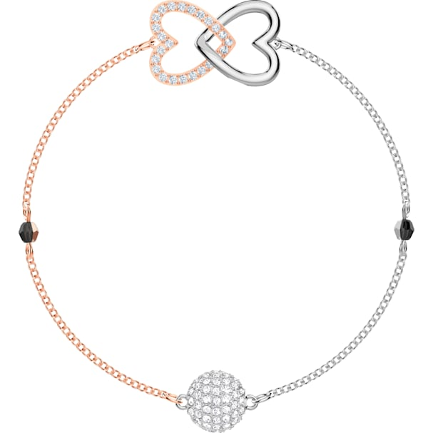 a999a36cb2832 Swarovski Remix Collection Forever Strand, White, Mixed metal finish