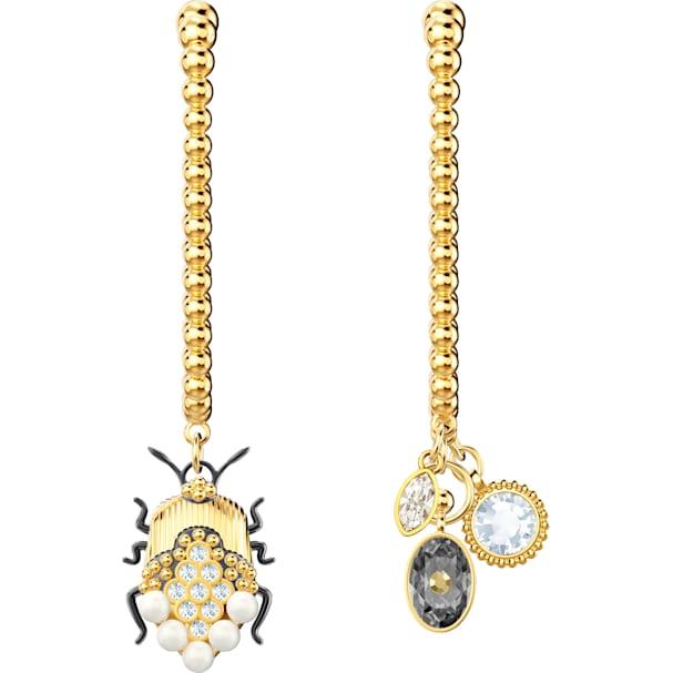4fbf8908f28f1 Magnetic Hoop Pierced Earrings, Multi-colored, Mixed metal finish