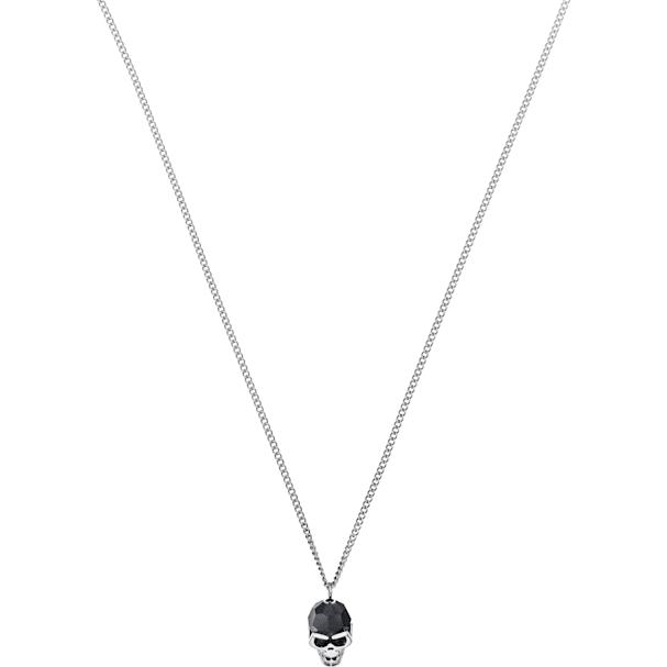 b0d979a81725b Taddeo Pendant, Black, Palladium plated