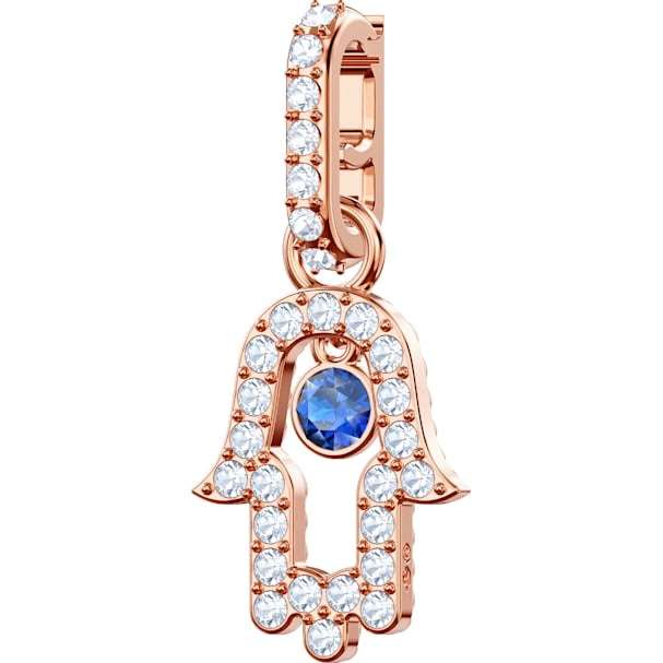 d8bc1f2d64a15 Swarovski Remix Collection Hamsa Hand Charm, Multi-coloured, Rose-gold tone  plated