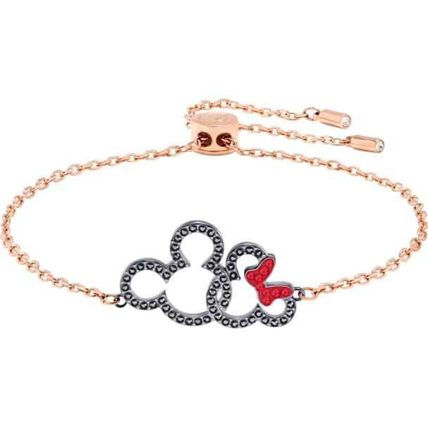 0c704198671c1 Mickey & Minnie Bracelet, Multi-coloured, Mixed metal finish