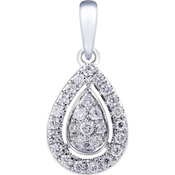 18K金钻石链坠 - Swarovski, 5009586