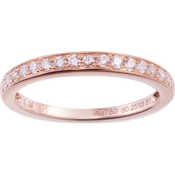 18K RG Dia Twinkle Ring - Swarovski, 5104078