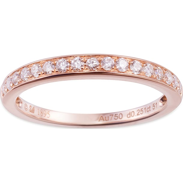 18K玫瑰金钻石戒指 - Swarovski, 5104078