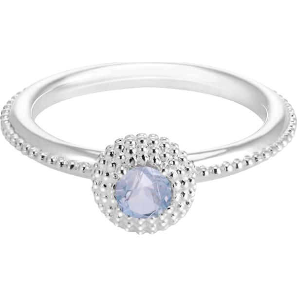 Soirée Birthstone Ring March - Swarovski, 5248720