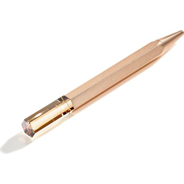 Stationery Ballpoint Pen, Gold tone - Swarovski, 5519688