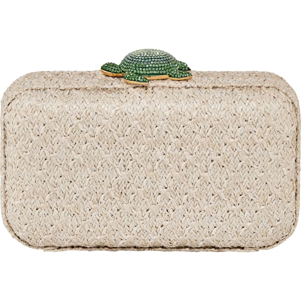 Mustique Sea Life Turtle 手袋, 米色, 鍍金色色調 - Swarovski, 5534872