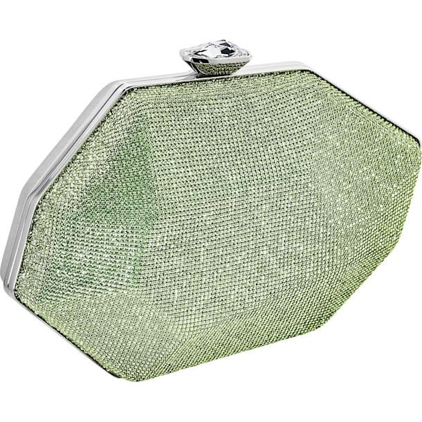 Marina Bag, Green, Palladium plated - Swarovski, 5535448