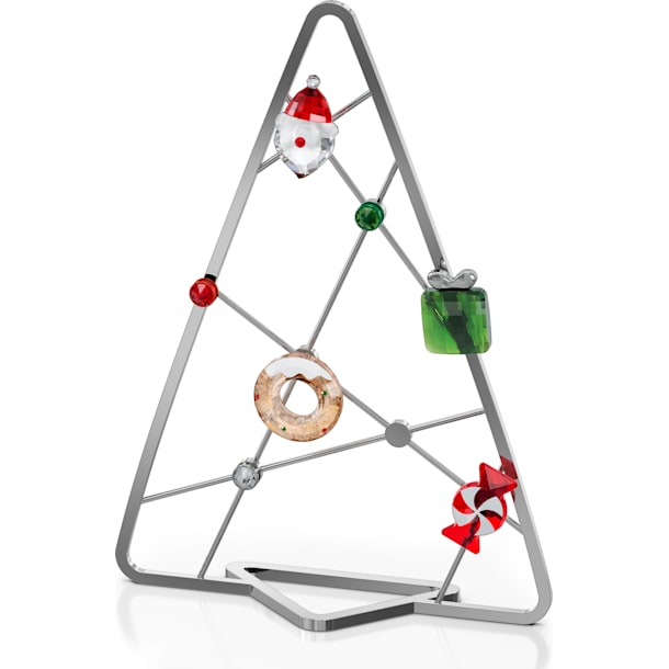 Holiday Cheers Tree With Magnets, Set of 7 - Swarovski, 5596393