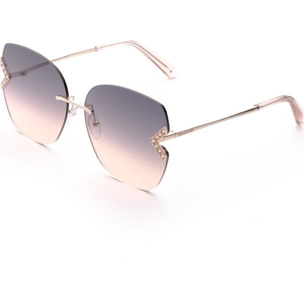 Swarovski 太陽眼鏡, SK0306-H 28B, 玫瑰金色調 - Swarovski, 5600905