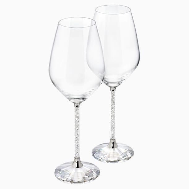Crystalline White Wine Glasses (Set 2) - Swarovski, 1095947