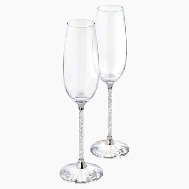 Crystalline Şampanya Kadehleri (2'li Set) - Swarovski, 255678