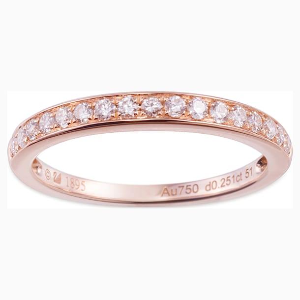 18K RG Dia Twinkle Ring - Swarovski, 5009647