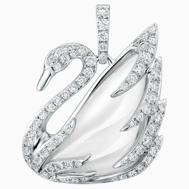 瑰丽天鹅18K金水晶钻石链坠 - Swarovski, 5009866