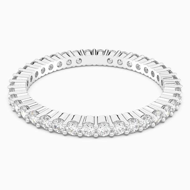 Vittore Ring, White, Rhodium Plating - Swarovski, 5028227