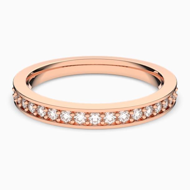 Δαχτυλίδι Rare, λευκό, επιχρυσωμένο με ροζ χρυσό - Swarovski, 5032901