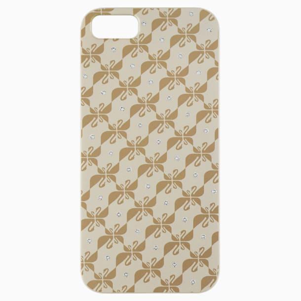 Swanflower Gold Tone Smartphone 套 - Swarovski, 5083040