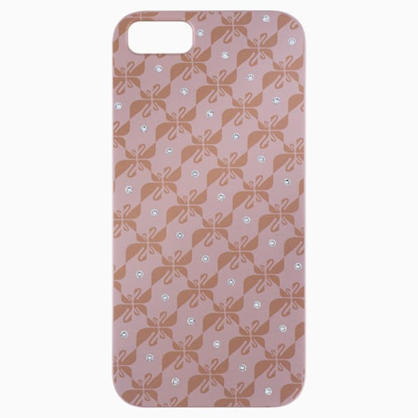 Swanflower Pink Gold Tone Smartphone 套 - Swarovski, 5083041