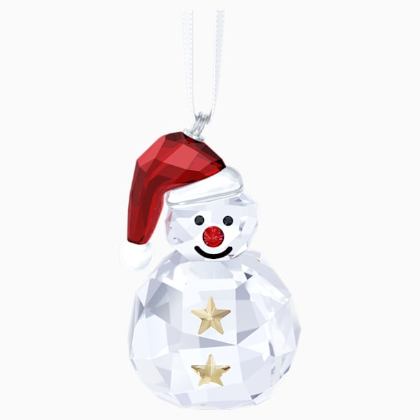 Rocking Snowman Ornament - Swarovski, 5189475
