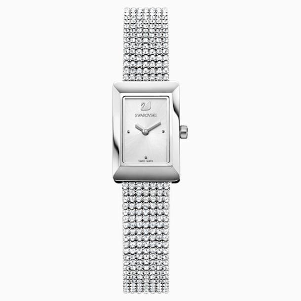 Zegarek Memories, pasek Crystal Mesh, biały, stal nierdzewna - Swarovski, 5209187