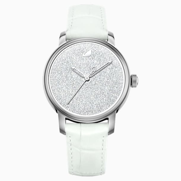 Crystalline Hours 워치, 화이트 - Swarovski, 5218899
