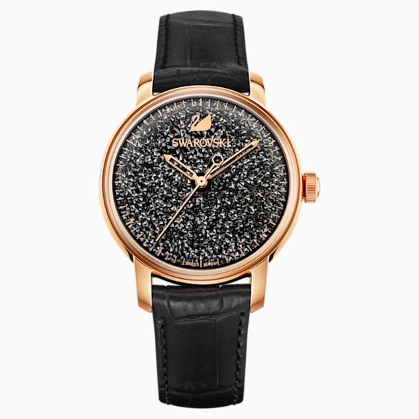 Reloj Crystalline Hours, negro - Swarovski, 5218902
