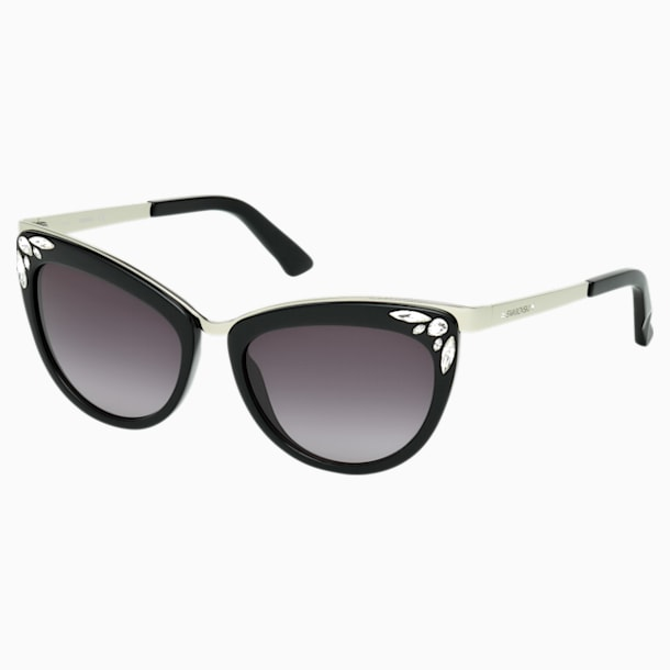 Fortune 太陽眼鏡, SK0102-F 01B, Black - Swarovski, 5219662